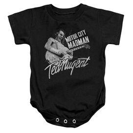 Ted Nugent Madman Infant Snapsuit Black