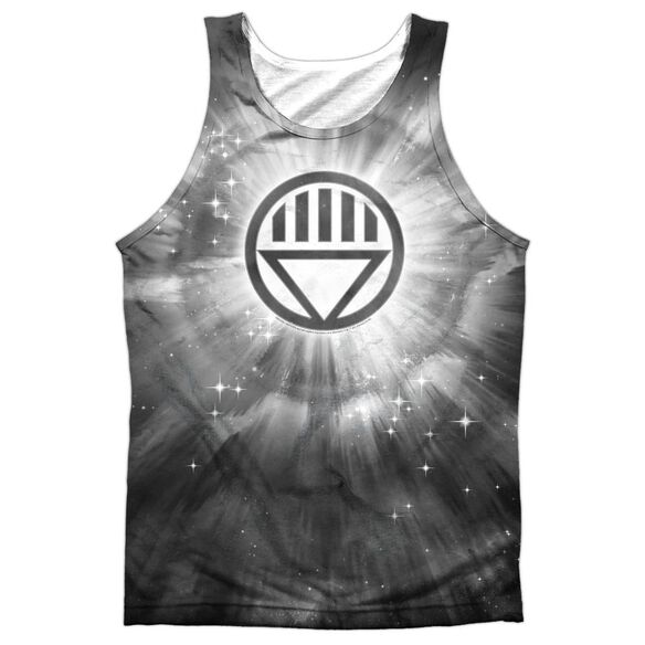 Green Lantern Black Energy Adult 100% Poly Tank Top