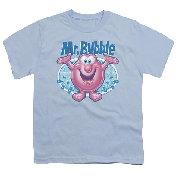 Mr Bubble Overflowing Short Sleeve Youth Light T-Shirt
