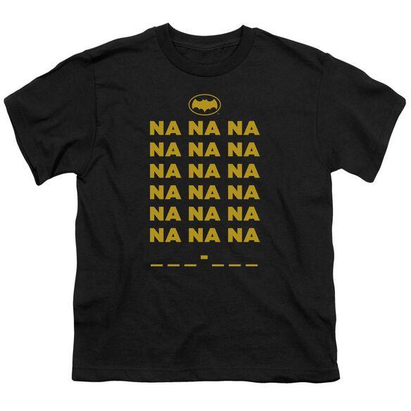 Batman Classic Tv Na Na Na Short Sleeve Youth T-Shirt