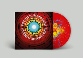 London Music Works - Music From the Iron Man Trilogy [Exclusive 2LP Red Vinyl with Yellow & Blue Splatter]
