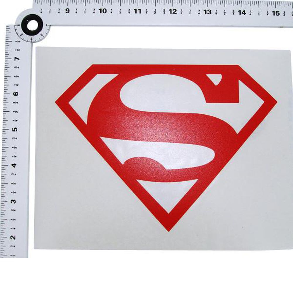 Logo red decal superman logo red decal biocorpaavc