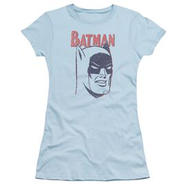 Batman Crayon Man Short Sleeve Junior Sheer Light T-Shirt