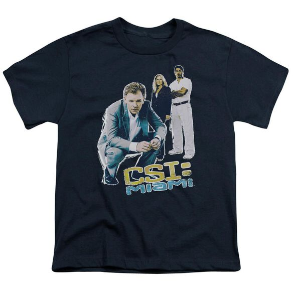 Csi Miami Perspective Short Sleeve Youth T-Shirt