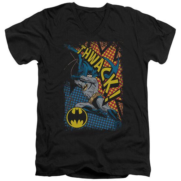 BATMAN THWACK - S/S ADULT V-NECK T-Shirt