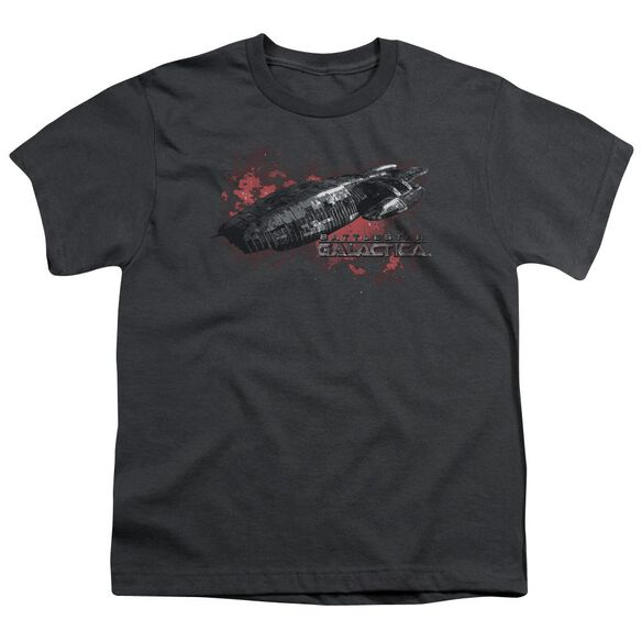 Bsg Galactica Short Sleeve Youth T-Shirt