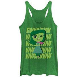 Inside Out Disgust Eww Tank Top Juniors T-Shirt
