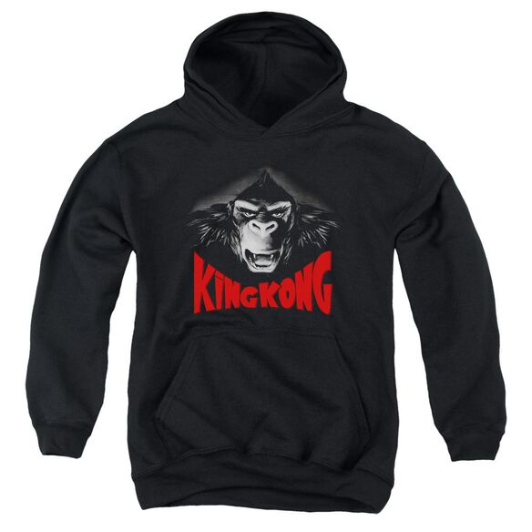 King Kong Kong Face Youth Pull Over Hoodie