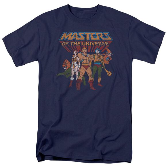 Masters Of The Universe Team Of Heroes Short Sleeve Adult T-Shirt