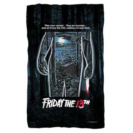 Friday The 13 Th Poster Fleece Blanket