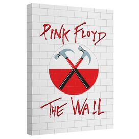Roger Waters The Wall Canvas Wall Art With Back Board