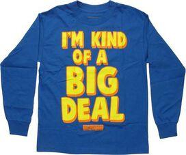 Anchorman I'm Kind of a Big Deal LS Youth T-Shirt