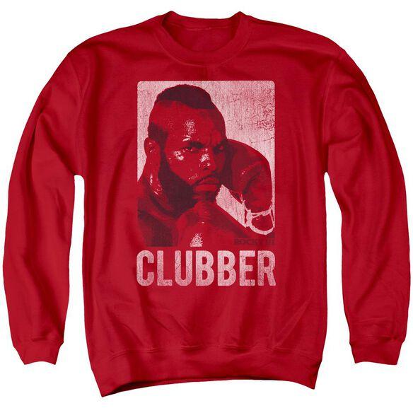 Rocky Iii Clubber Lang Adult Crewneck Sweatshirt