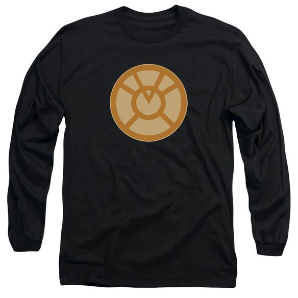 Green Lantern Orange Symbol Long Sleeve Adult T-Shirt