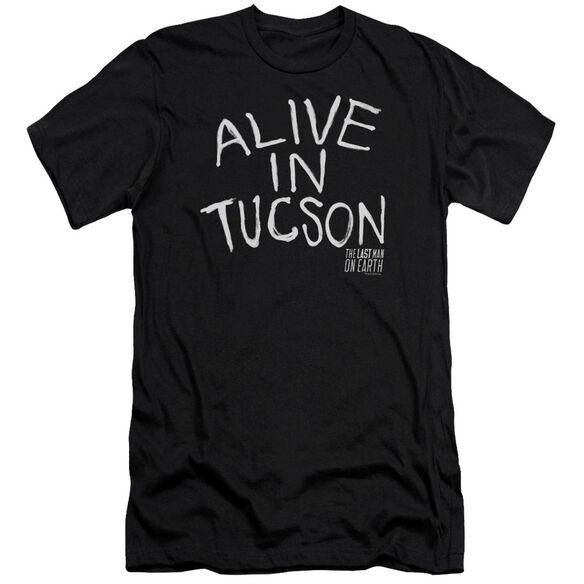 Last Man On Earth Alive In Tucson Premuim Canvas Adult Slim Fit