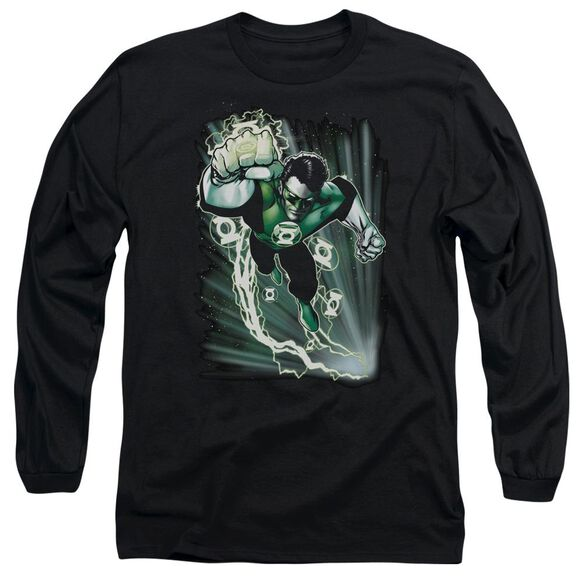 Jla Emerald Energy Long Sleeve Adult T-Shirt