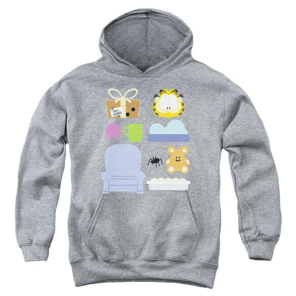 Garfield Gift Set Youth Pull Over Hoodie