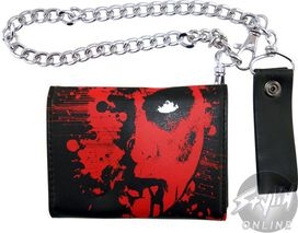 Killswitch Engage Name Face Chain Wallet