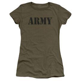Army Army Short Sleeve Junior Sheer Military T-Shirt