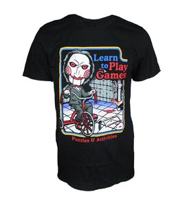 Creepy Co Retro Saw Play Games T-Shirt