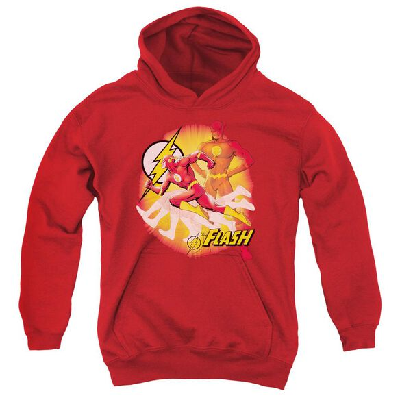 Jla Lightning Fast Youth Pull Over Hoodie