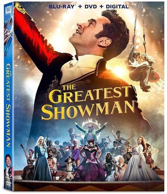 Greatest Showman [Includes Digital Copy] [Blu-ray/DVD]