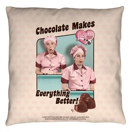 I Love Lucy Friends And Chocolate Throw