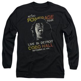 Acdc Powerage Tour Long Sleeve Adult T-Shirt