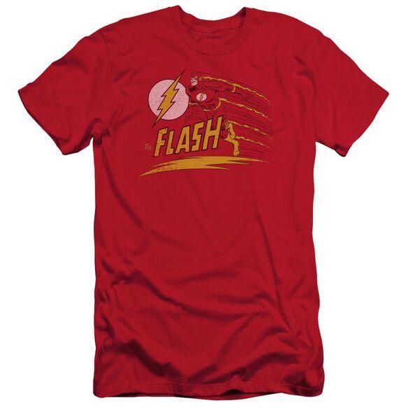 Dc Like Lightning Short Sleeve Adult T-Shirt