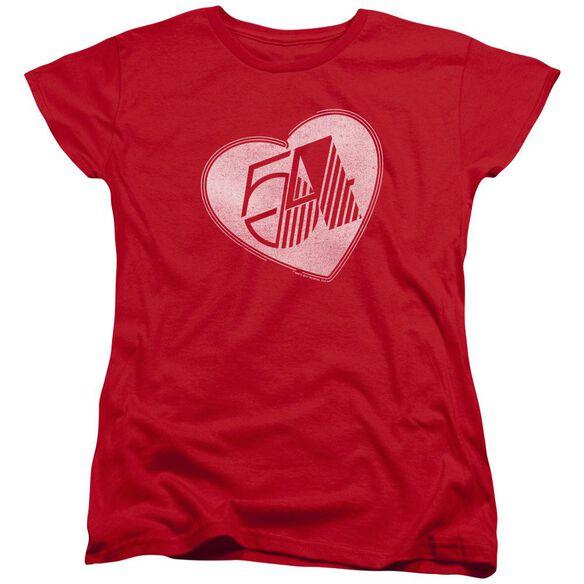 Studio 54 I Heart Studio 54 Short Sleeve Womens Tee T-Shirt