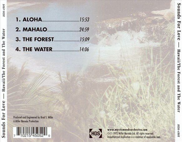Sounds For Love:Hawaii/Fo