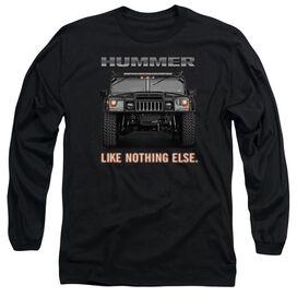 Hummer Like Nothing Else Long Sleeve Adult T-Shirt