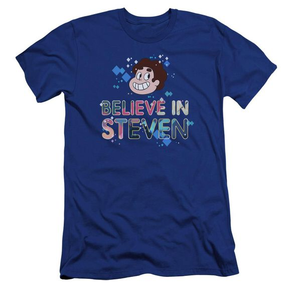 Steven Universe Believe Hbo Short Sleeve Adult Royal T-Shirt