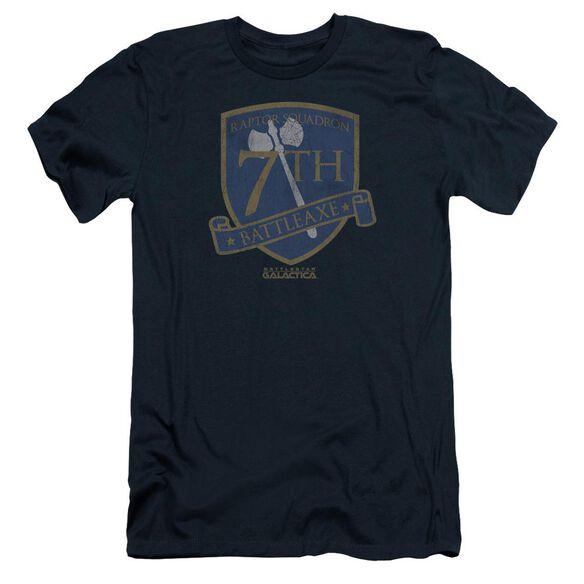 Bsg Battleaxe Badge Short Sleeve Adult T-Shirt