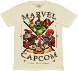 Marvel vs Capcom Brawlers T-Shirt Sheer