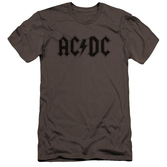 Acdc Worn Logo Hbo Short Sleeve Adult T-Shirt