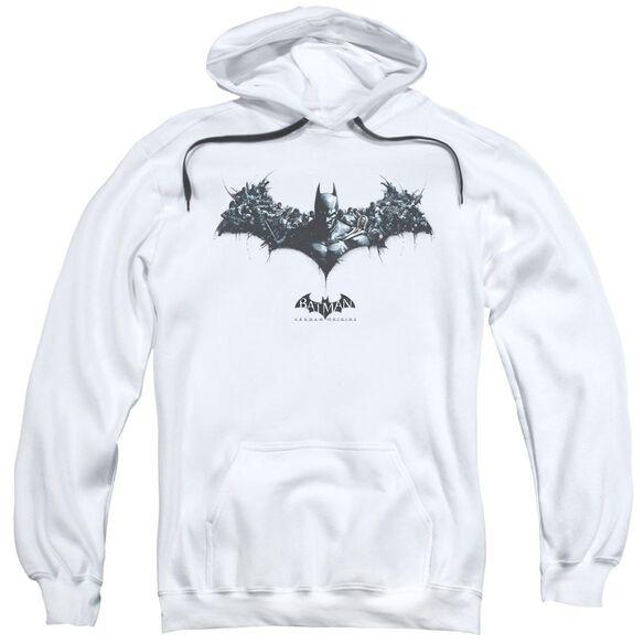 Batman Arkham Origins Bat Of Enemies Adult Pull Over Hoodie