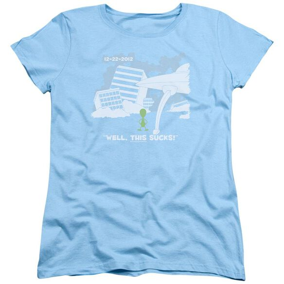 Late To The Party Short Sleeve Women's Tee Light T-Shirt