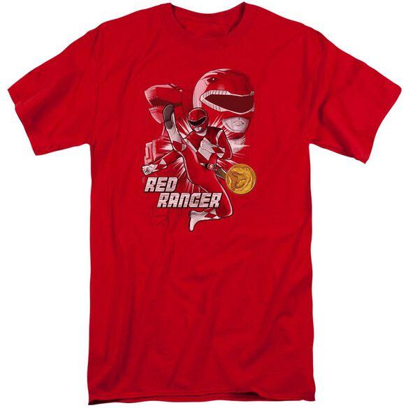 Power Rangers Ranger Short Sleeve Adult Tall T-Shirt