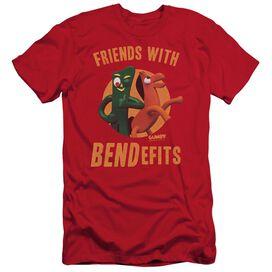 Gumby Bendefits Short Sleeve Adult T-Shirt