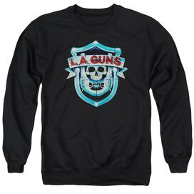 La Guns La Guns Shield Adult Crewneck Sweatshirt