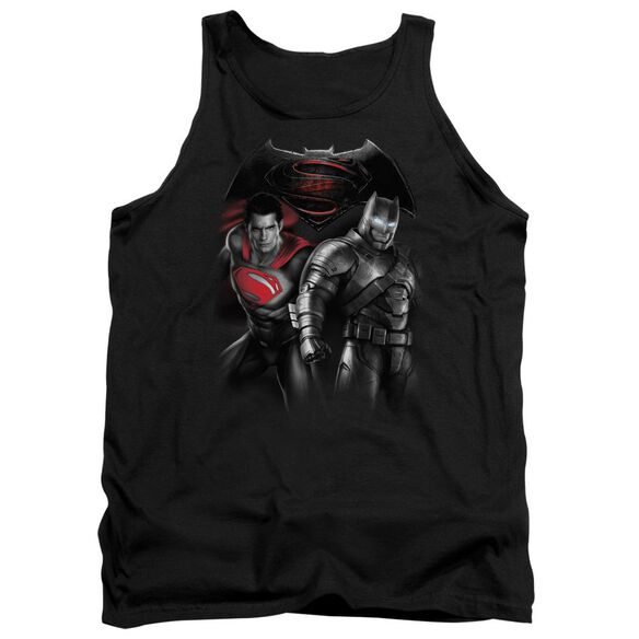 Batman V Superman Stand Off Adult Tank