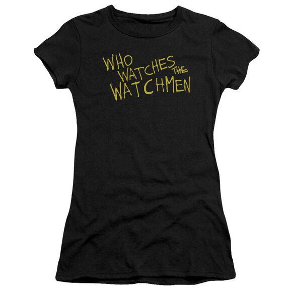 Watchmen Who Watches Premium Bella Junior Sheer Jersey