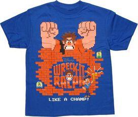 Wreck-It Ralph Like Champ Youth T-Shirt