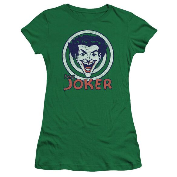 Dc Joke Target Premium Bella Junior Sheer Jersey Kelly
