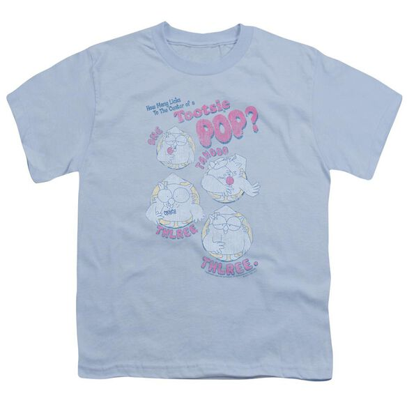 Tootsie Roll Three Short Sleeve Youth Light T-Shirt