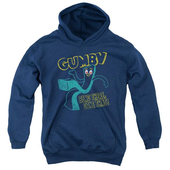 Gumby Bend There Youth Pull Over Hoodie