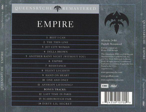 Empire (Bonus Tracks) (Rmst)