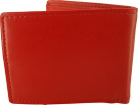 Flash Bolt Cut Out Logo Bifold Wallet