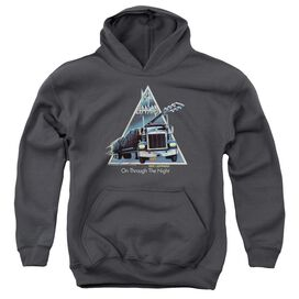 Def Leppard On Through The Night Youth Pull Over Hoodie
